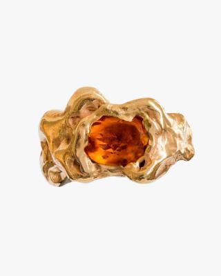 Ola Ring in Orange