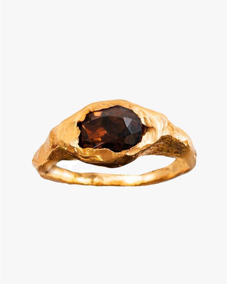 Faro Ring in Brown