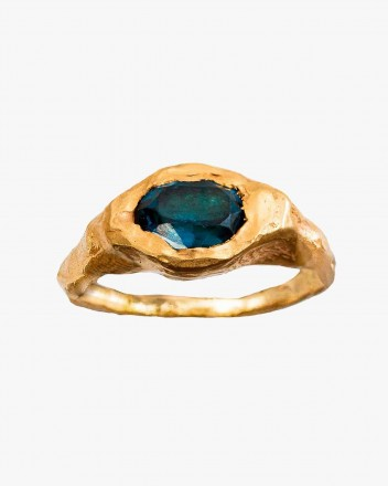 Faro Ring in Blue