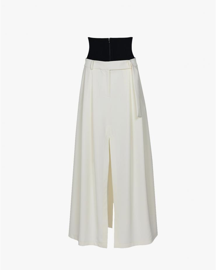 Double Pleat Maxi Pant...