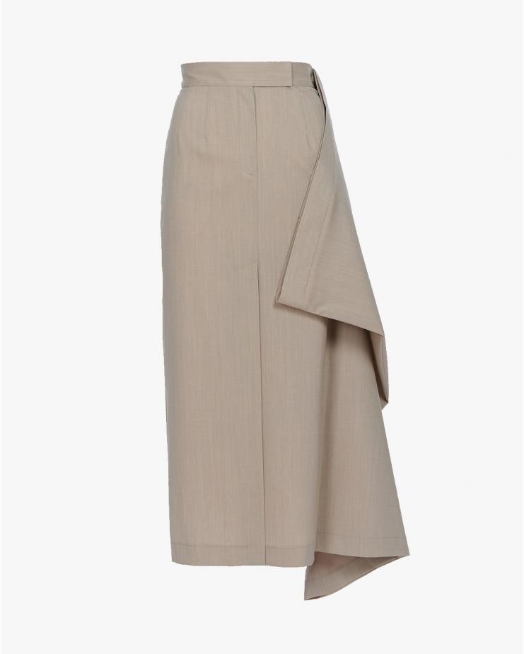 Double Midi Skirt