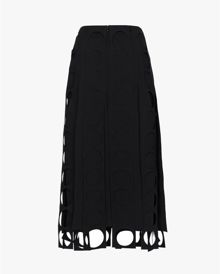 Multi Pannel Midi Skirt