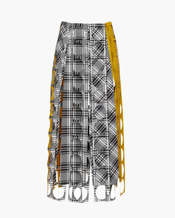 Multi Pannel Midi Skirt...