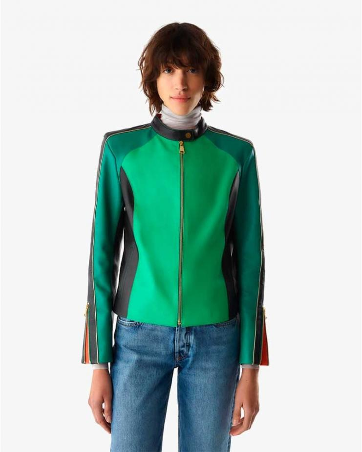 Willy Jacket in Rayo Green