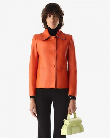 Liz Jacket in Orange