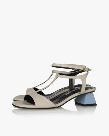 Becca Sandals in Beige