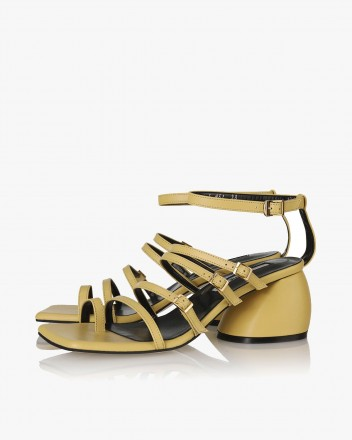 Connie Sandals in Yellow