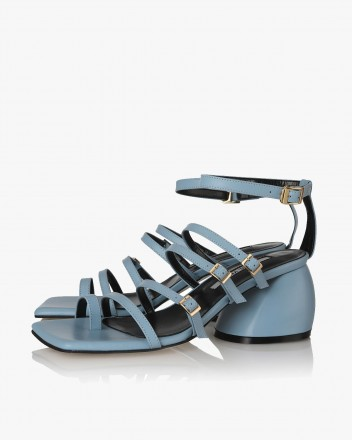 Connie Sandals in Blue