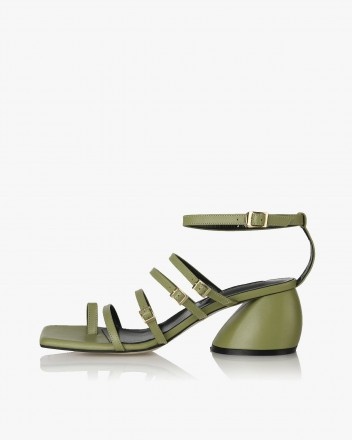 Connie Sandals in Olive