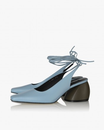 Alexia Lace-up Slingbacks...
