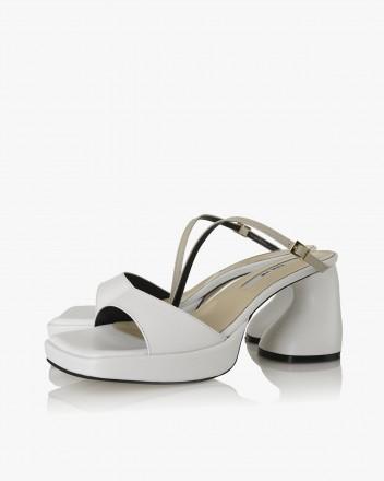 Sandra Sandals in White