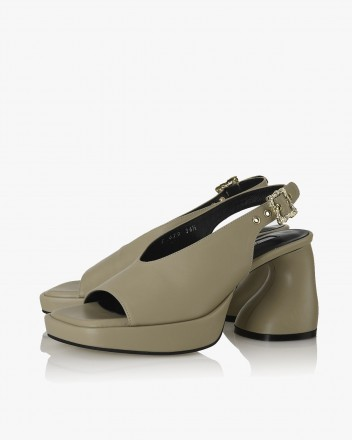 Dorcey Slingbacks in Beige
