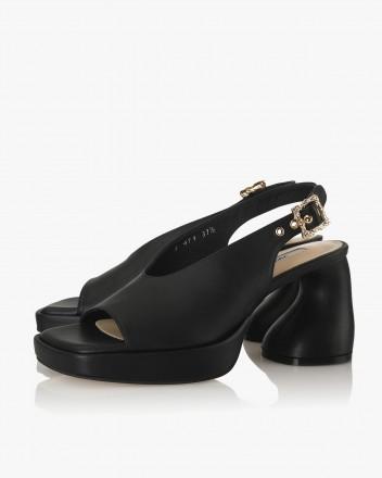 Dorcey Slingbacks in Black