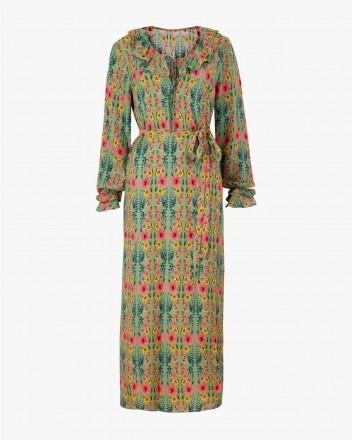 Belladonna Dress in Wildflower