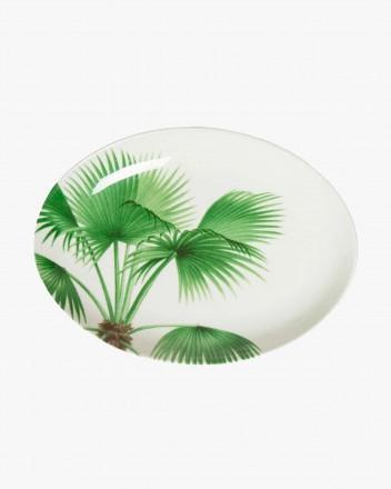 Palm Tree Oval Platter