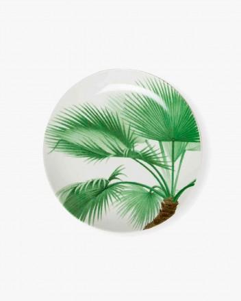 Palm Tree Dinner Plates Set
