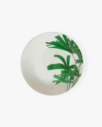 Palm Tree Soup Plates Set