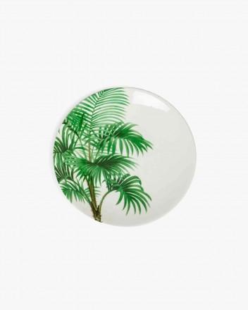 Palm Tree Dessert Plates Set