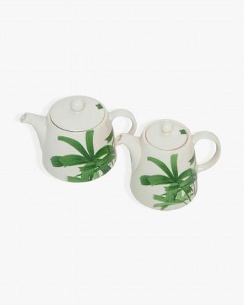 Palm Tree Tea Pot