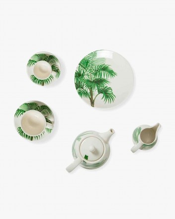 Palm Tree Tea Time Set
