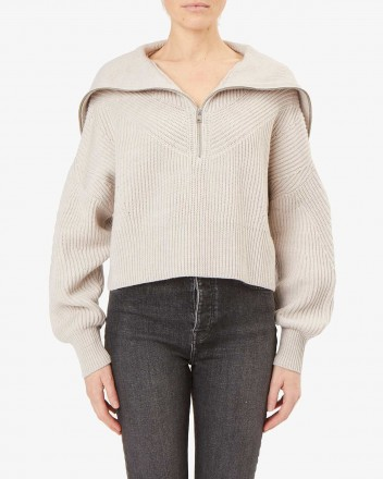 Joanna Sweater in White