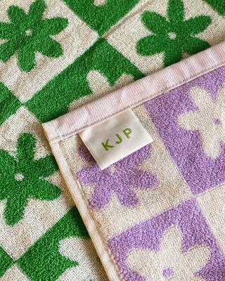 Celeste Bath Towel in Lilac
