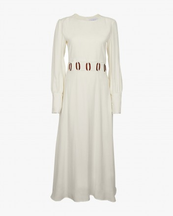 Claudia Dress in White