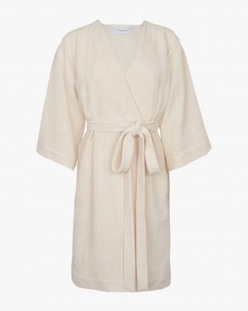Faye Dress in Ecru