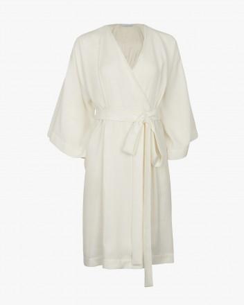 Faye Dress in White