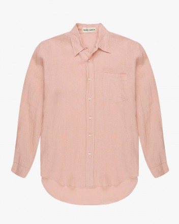 Flannel Shirt in Blush