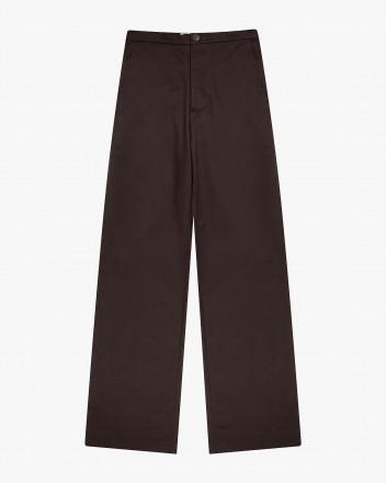 Palm Pants in Dark Olive