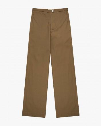 Palm Pants in Dark Tan