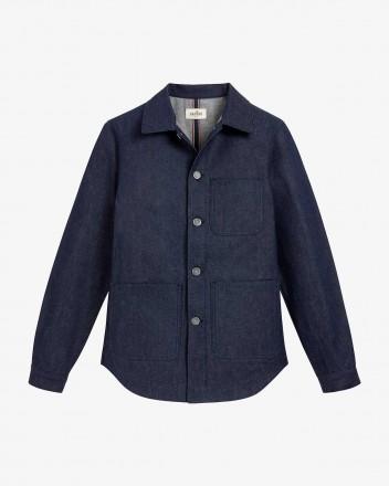 Genesis Shirt in Indigo Blue