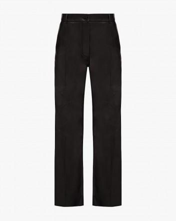 Medium-Rise Wide-Leg Trousers