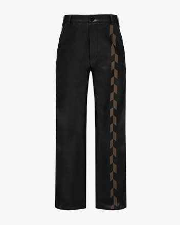 Medium-Rise Trousers With...
