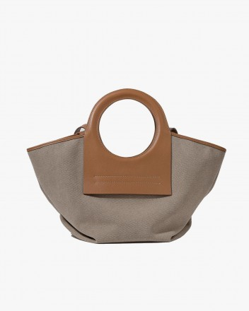 Cala Small Tote Bag in Tan