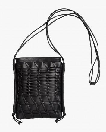 Trena Crossbody Bag in Black