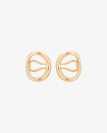 Naho Earrings pair in Vermeil