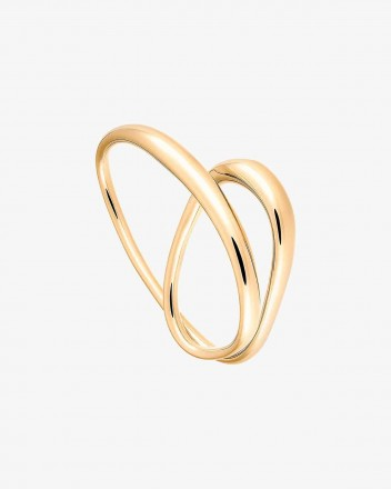 Heart Ring in Vermeil