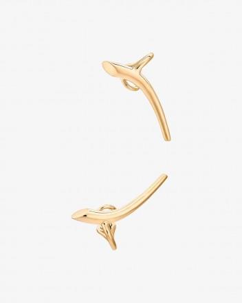Helix Earring pair in Vermeil
