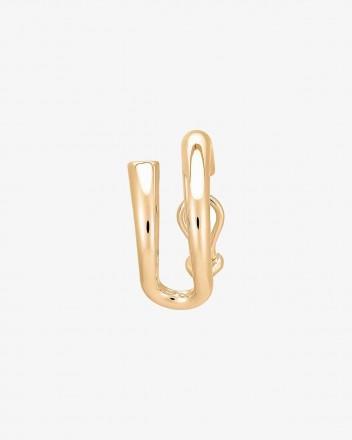 Dali Earring Single in Vermeil