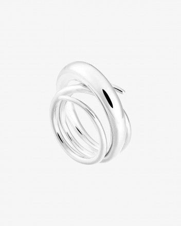 Hurly Burly Ring in Silver