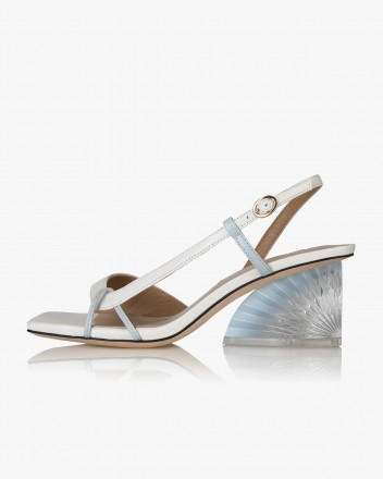 Danmi Sandals in White