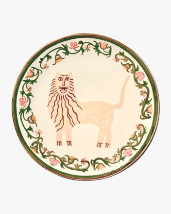 Ceramic Plate With The Lion...