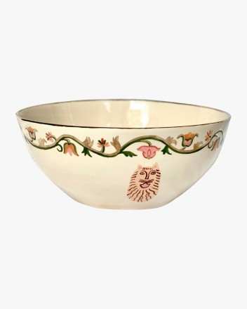 Ceramic Salad Dish With...