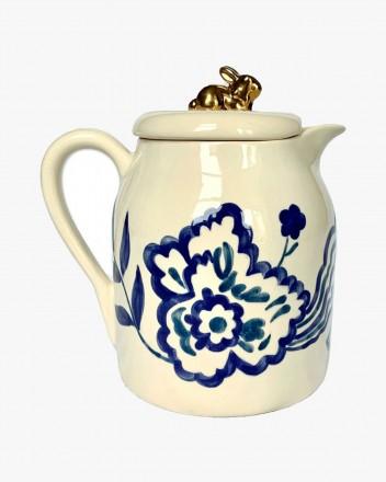 Ceramic Ewer Indigo