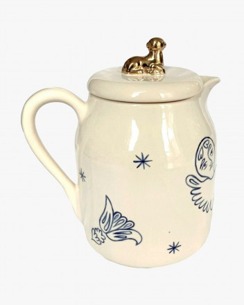 Ceramic Saint Nicolas Ewer