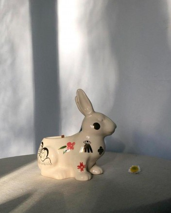 Rabbit-Shaped Candle With...