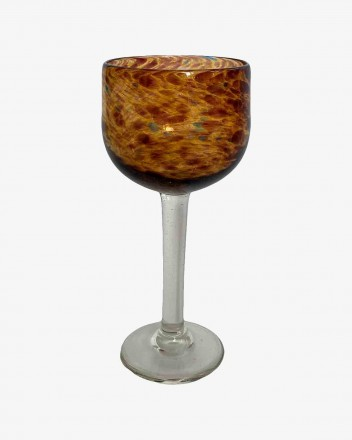 Glass Goblet Set Of 2