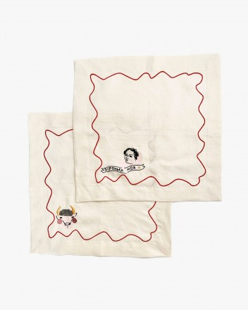 Set Of Two Napkins